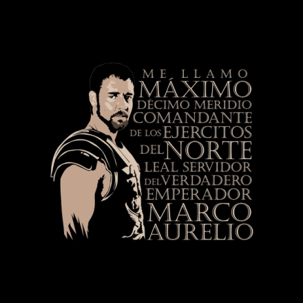 camiseta tshirt gladiator